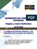 Carta de Crédito - reglas y usos uniformes