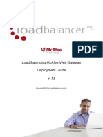 Web Proxy Deployment Guide McAfee
