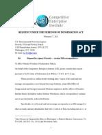 CEI FOIA EPA Congl Affairs and OA Request Boxer Markey Whitehouse Corresp