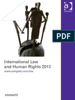 International Law and Human Rights 2013 ROW