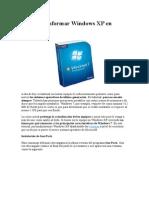 Cómo Transformar Windows XP en Windows 7