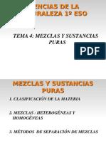 Mezclas Homo y Heterogeneas
