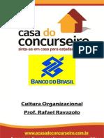 Apostila Cultura Organizacional 2015 - Professor Rafael Ravazolo