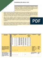 Hge2 Programacion Anual