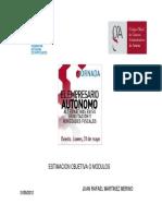 El Empresario Autónomo Alternativas en Su Tributación, Novedades Fiscales. JuanR Martínez