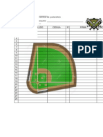 Formato de Roster softball