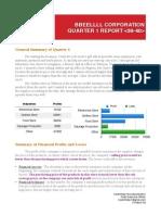 q1 report