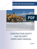 Salt Lake City International Airport - Construction Safety and Security Compliance Manual