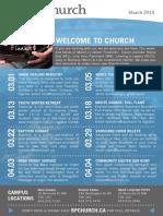 March Bulletin