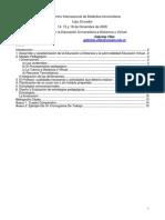 Didactica Universitaria y Educacion Virtual EAD Villar