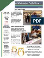 WWPL Spring 2015 Newsletter