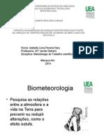Biometeorologia Humana