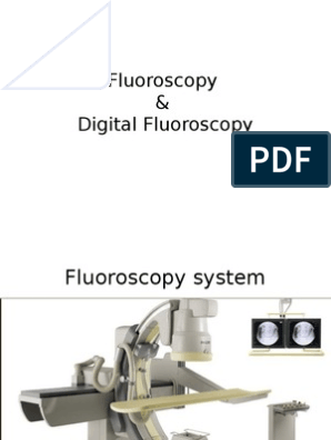 Fluoroscopy   Vacuum Tube   Television