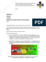 Carta Para Asesores y Comunidades Juveniles Vicentinas