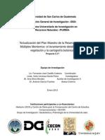 Actualización Del Plan Maestro de La Reserva de Usos Múltiples Monterrico