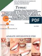 Aparate Ortodontice Fixe