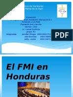 Llegada Del Fmi a Honduras en  2009