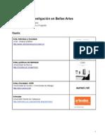 MUNÁRRIZ, Jaime (2013) Revistas de Investigación en Bellas Artes
