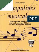 Saitta. Trampolines Musicales