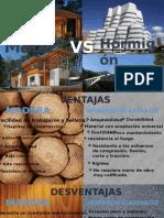 Madera vs Hormigon Armado