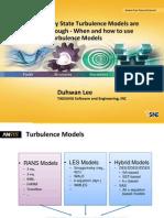 Korea 2014ugm Turbulence Models