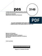 CONPES 3149 PEP 2002 - 2003
