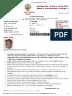 TTD - ESpecialEntryDarshan Receipt