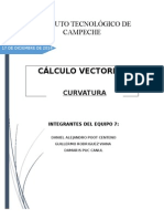 Calculo Vectorial- Curvatura