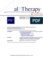 PTJ Interviewing in Physical Therapy