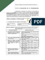 Guía Planificacion de La Evaluacion 2008