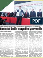 28-02-2015 Combatirá Adrián inseguridad y corrupción