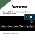 Lenovo c460 Maintenance Manual