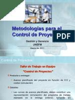 Metodologías Para El Control de Proyectos 2010
