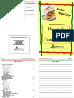 Pasta Booklet