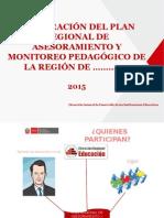 5. PPT Plan Regional de Asesoramiento y Monitoreo Pedagogico