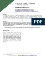 Informe de Laboratorio Separacion