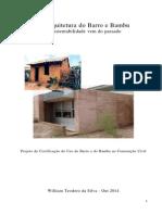 Projeto Bioarquitetura Bambu e Barro