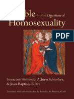The Bible on the Question of Homosexuality