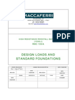 Design Loads and Standard Foundations_RMC 100A