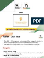 25122014_YuStart 2015_CII Yi Challenge
