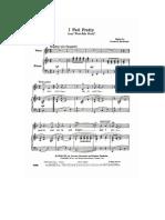 West Side Story - I Feel Pretty _Sheet_.pdf