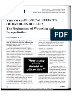 Physiological Effects Handgun Bullets Newgard