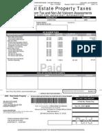 Esposa Lopez Doriga Miami Dade County Real Estate 28 2210 075 0430 2009 Annual Bill (1)