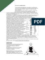 La Postura Corporal en La Meditación