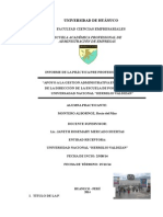 Informe de Practica II