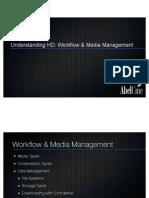HD Formats workflow