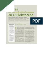 José María Bermúdez de Castro - Claves de La Evolución Humana en El Pleistoceno