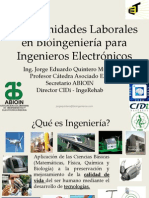 Oportunidades Laborales Bioing Ie