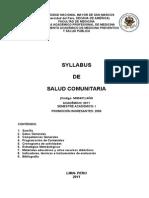 MH0431_Salud Comunitaria -2011 I - JMAGV
