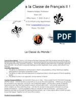 french 2 syllabus 2014-2015